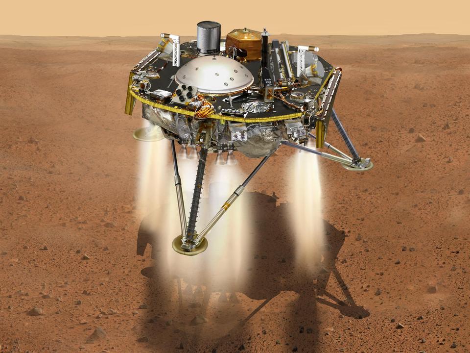 火星探査機インサイト