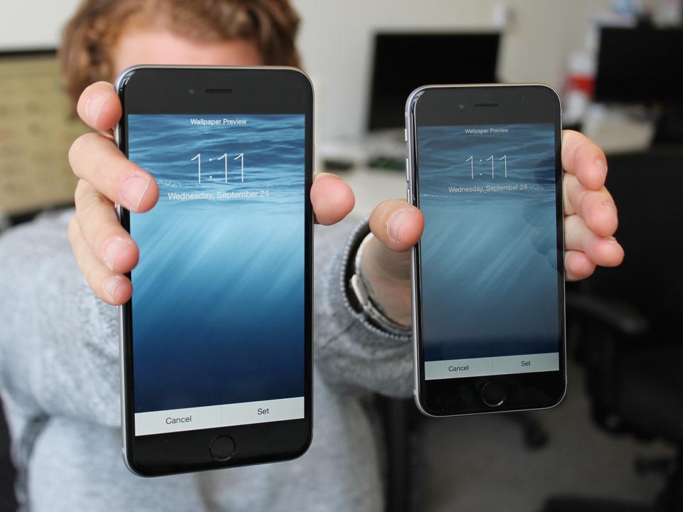 iPhone XRとXS