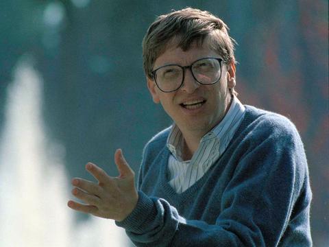 1992年のビル・ゲイツ