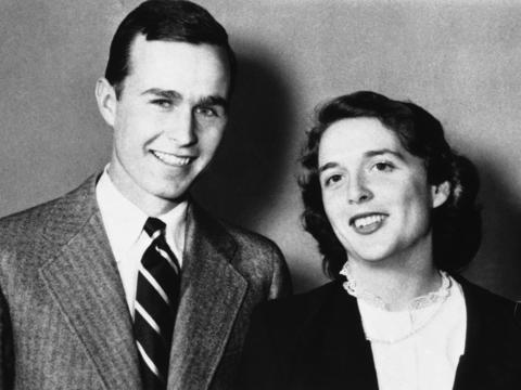 写真で振り返る、ジョージ・H・W・ブッシュ元大統領の人生と彼が残した ...