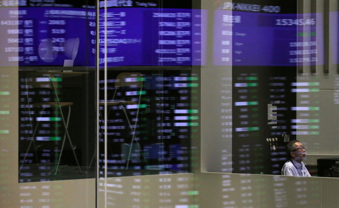 東京証券取引所。