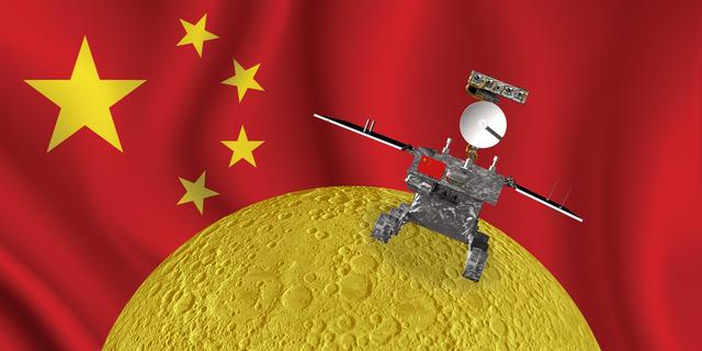 月の裏側に着陸した中国の無人探査機「嫦娥4号」