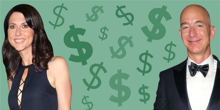 慰謝料は7兆円? ジェフ・ ベゾス氏離婚 ── ビリオネアが離婚すると ...