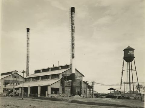 フォードランディアの給水塔