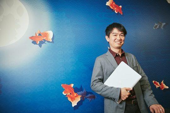 ベンチャーキャピタル「サムライインキュベート」の代表、榊原健太郎さん