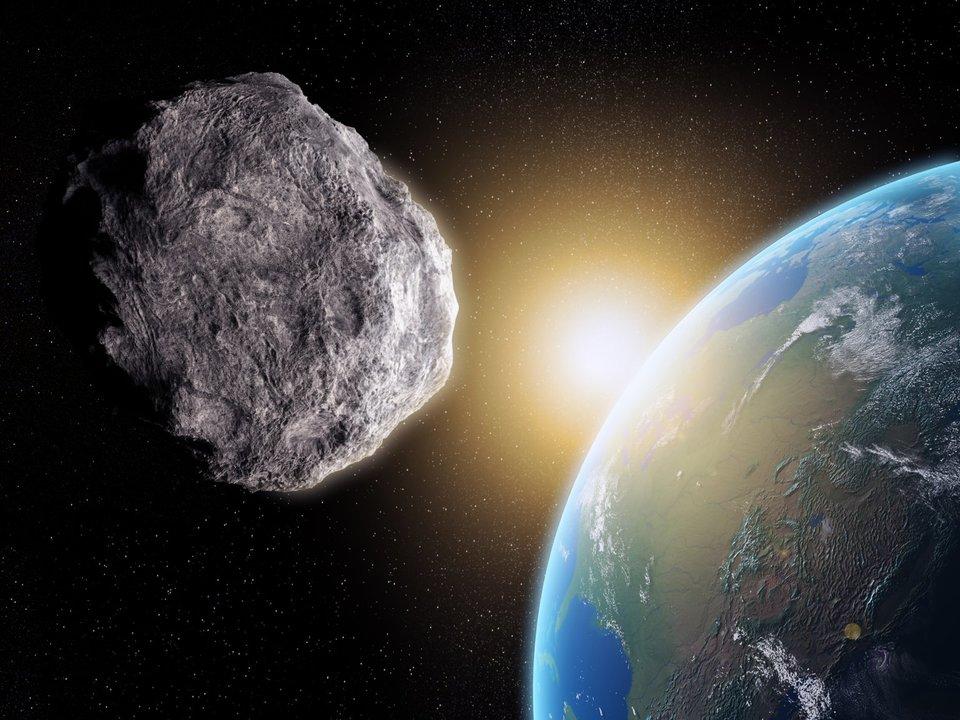 小惑星と地球