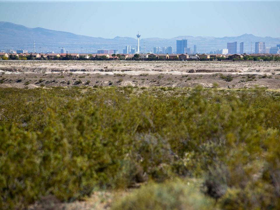 国立気象局(NWS)の観測データによると、ラスベガスの観測史上最高気温は摂氏47.2度だ。