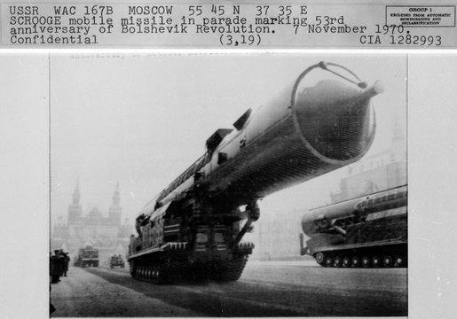 ソビエトの軍事パレード