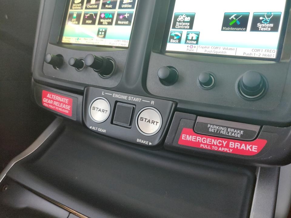 ホンダジェット エリート(HondaJet Elite):エンジンスタートボタン