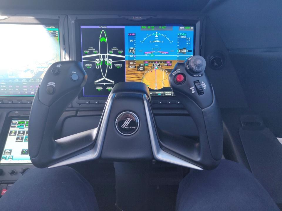 ホンダジェット エリート(HondaJet Elite):操縦桿