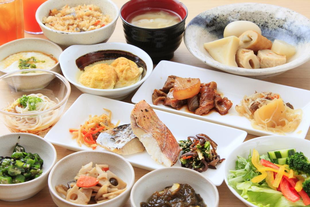 リッチモンドホテル姫路の朝食ビュッフェ