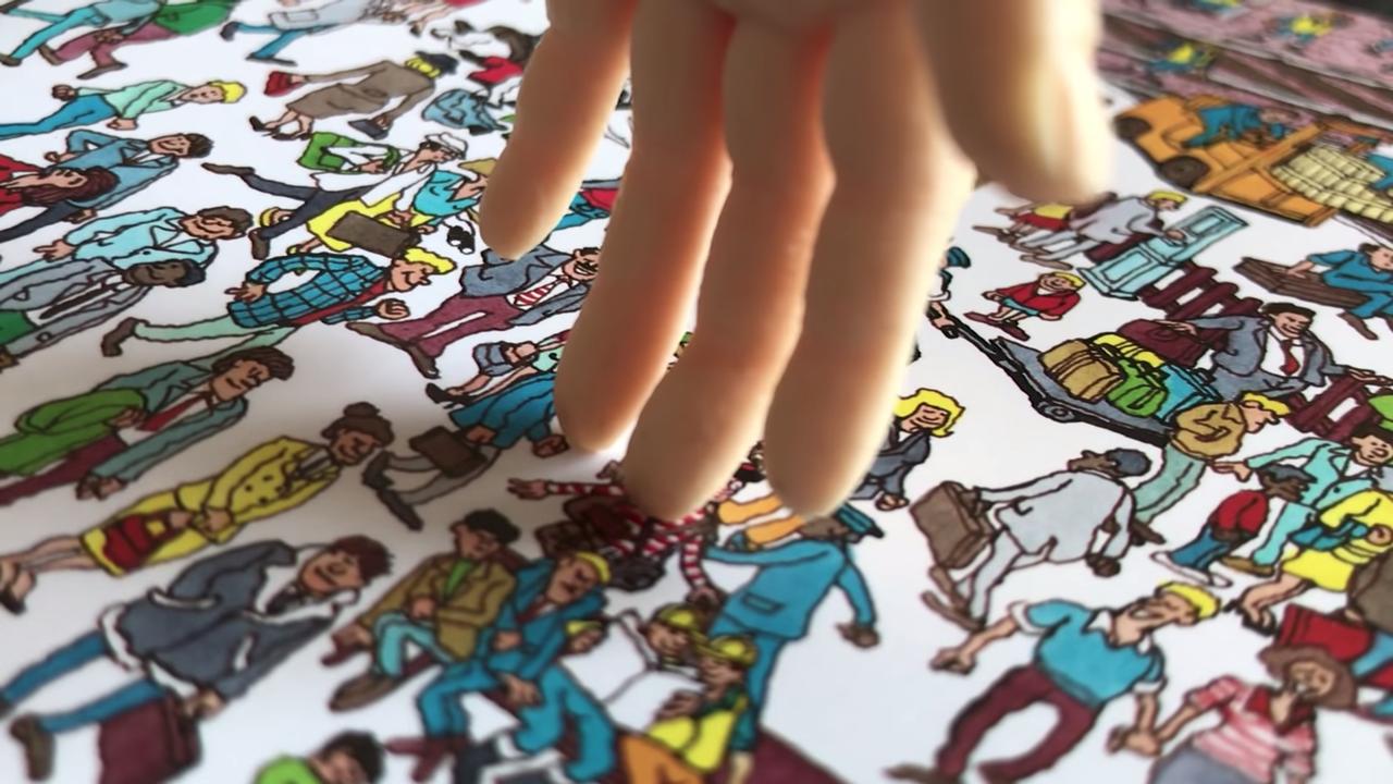 Redpepperは「There's Waldo」はプロトタイプだが、どのページでもウォーリーを4.45秒以内に探し出すことができると述べた。