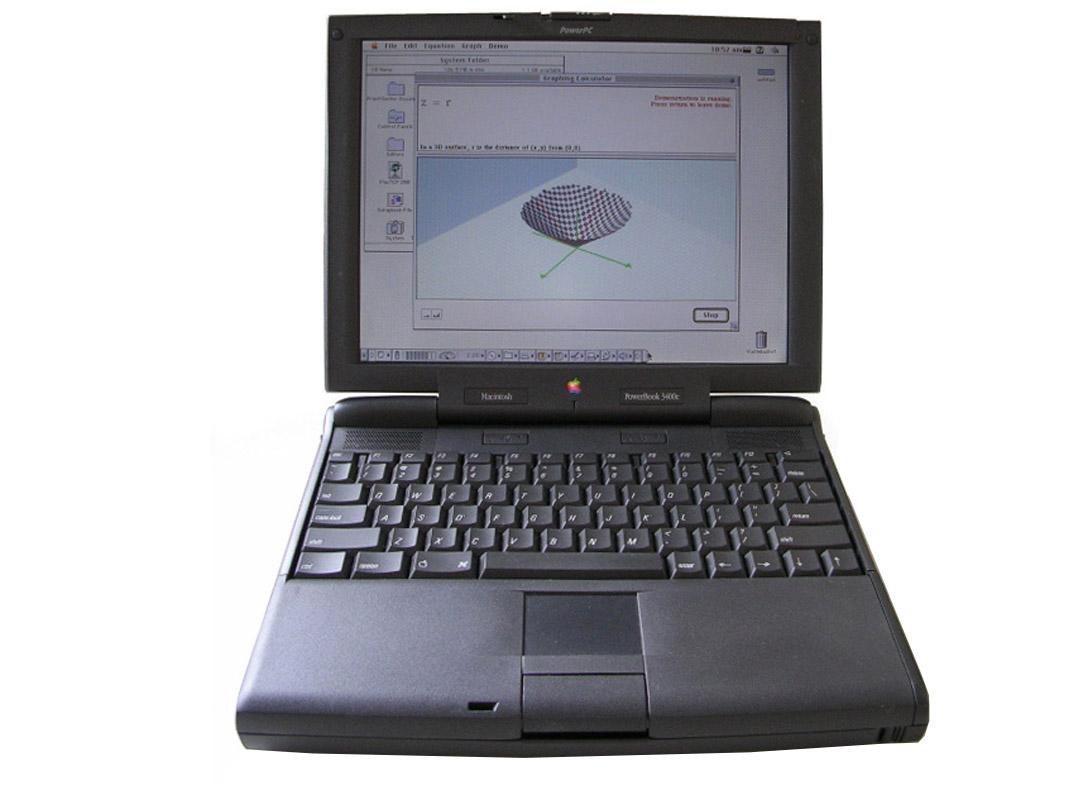 12位 PowerBook 3400c(1997年)、6500ドル