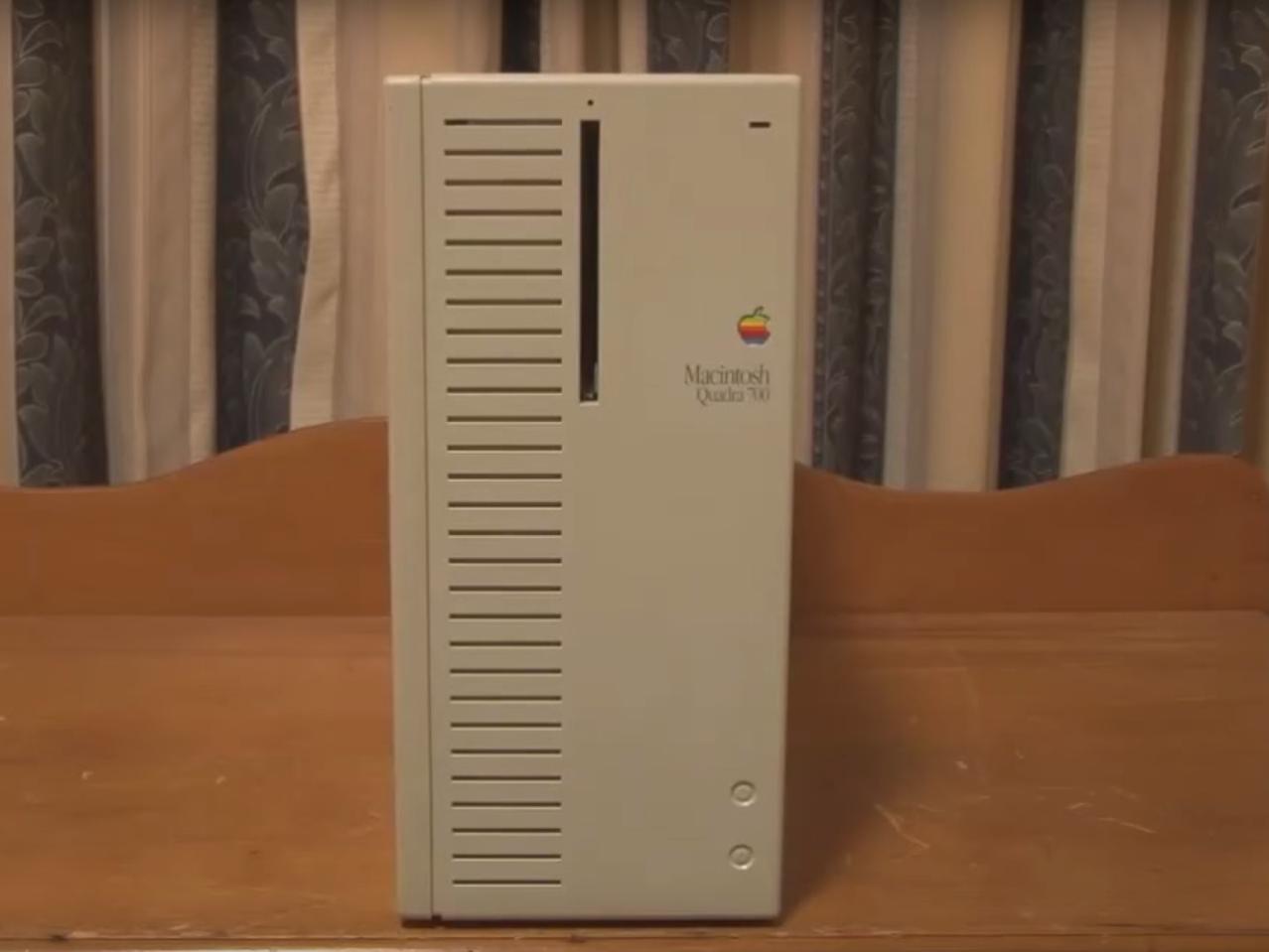 14位 Macintosh Quadra 700(1991年)、5700ドル