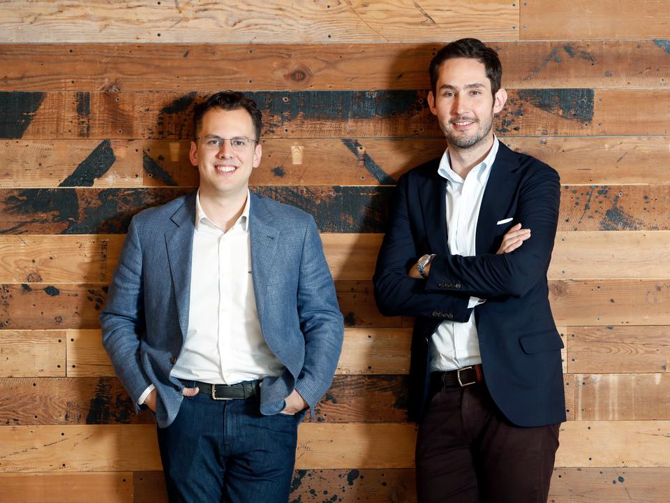 2018年9月、インスタグラムの共同創業者ケビン・シストロム(Kevin Systrom)とマイク・クリーガー(Mike Krieger)