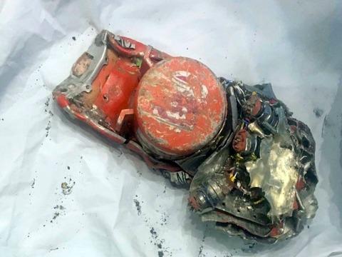 エチオピア航空の墜落現場から回収されたフライトレコーダー
