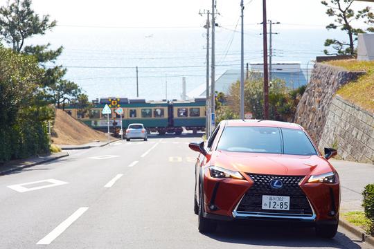 レクサスと江ノ電