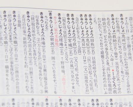 辞書なのに爆売れ。異例のヒット・カープ仕様国語辞典をつくった出版 ...