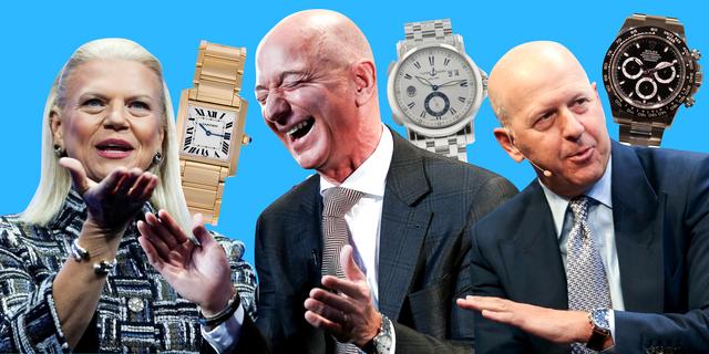 大物たちの腕時計