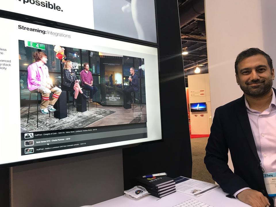 通信大手ベライゾンの子会社ベライゾン・デジタル・メディア・サービスのアジア担当のマシュー・スタージェス氏