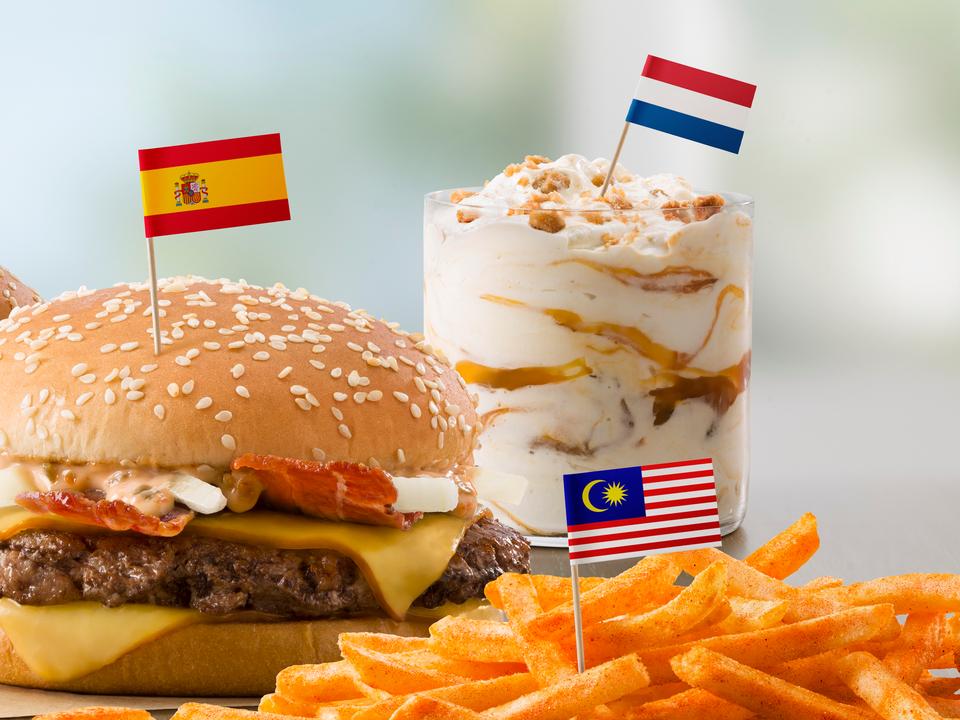 米マクドナルド、海外の人気商品をメニューに追加