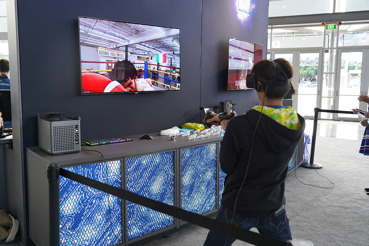 VR ボクシングゲーム