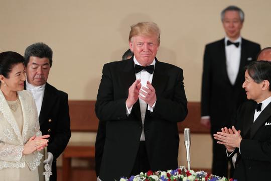 トランプ大統領と天皇皇后陛下