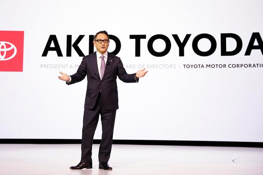 トヨタ自動車 豊田章男