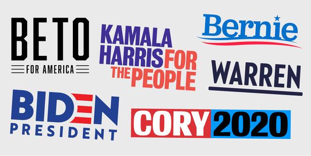 各候補のロゴ
