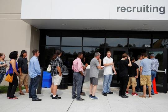 アメリカの求職者たち。