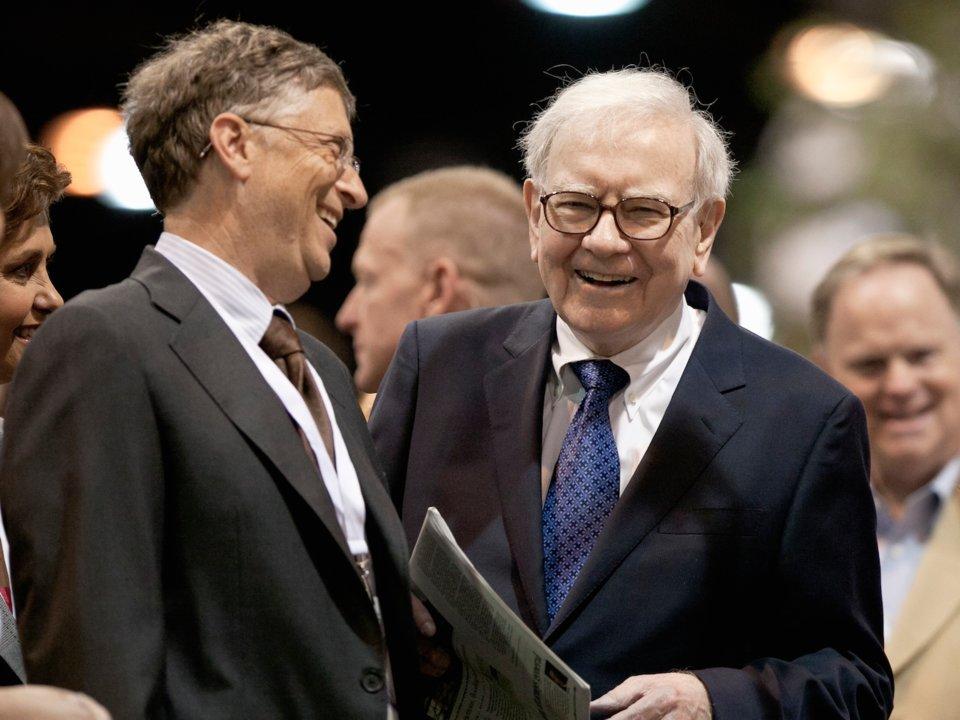 ビル・ゲイツ、ウォーレン・バフェット