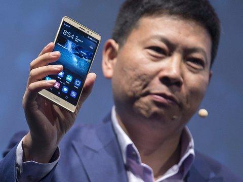 ファーウェイのコンシューマー事業部門CEO、リチャード・ユー氏。