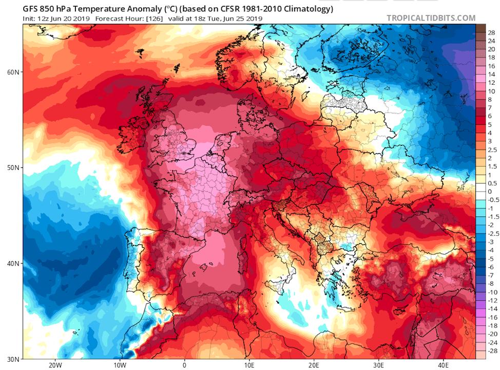 フランスで1万5000人が死亡した2003年並みの熱波襲来
