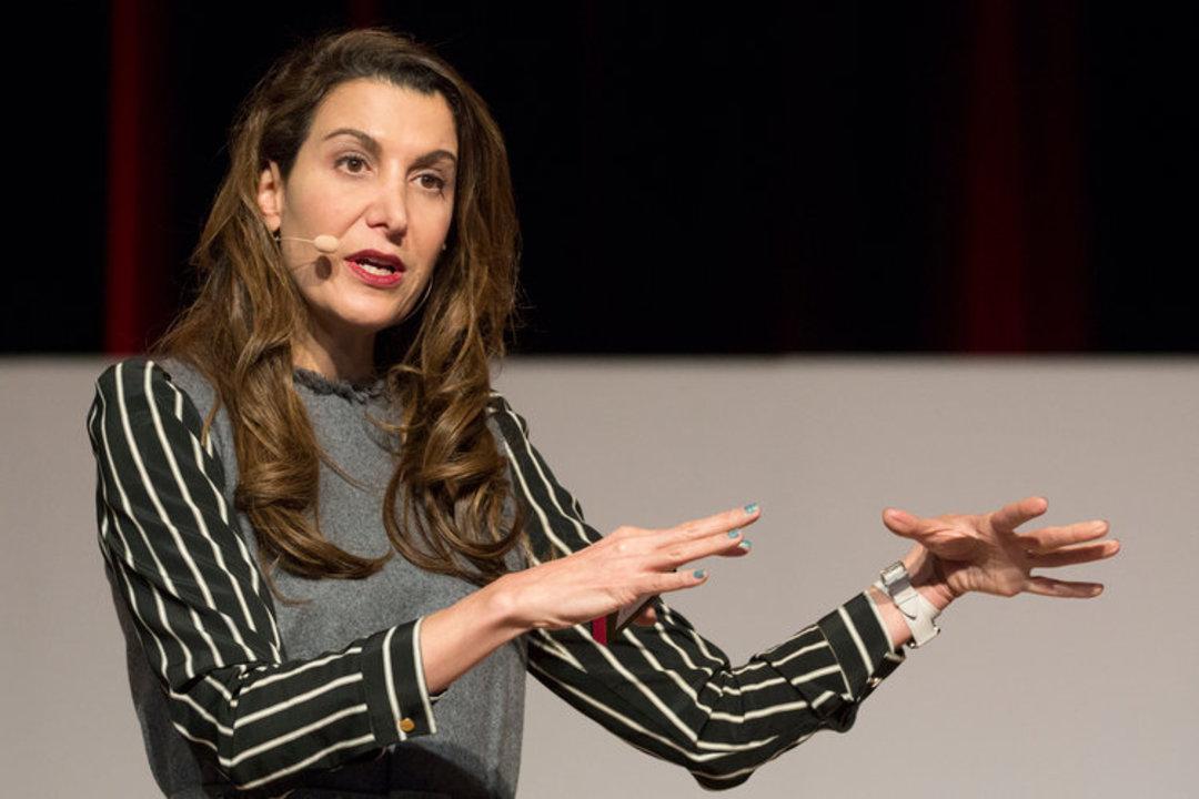 ブランドレスの共同創業者で前CEO、ティナ・シャーキー。