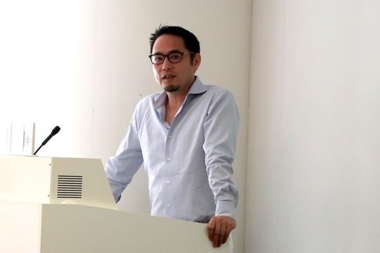 グーグルが6月28日、都内で開催したセミナーで登壇した小林伸一郎 マーケットインサイト統括部長(日本・韓国)。