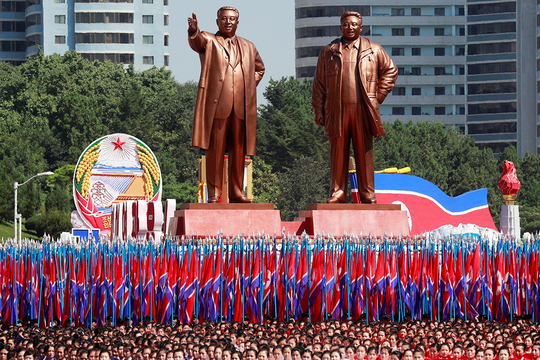 北朝鮮 金日成 金正日