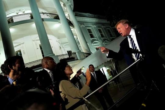 トランプ米大統領。