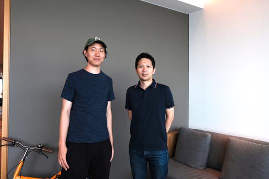 濱田航平さんと新和博さん