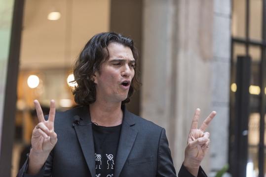 WeWork アダム・ニューマン CEO