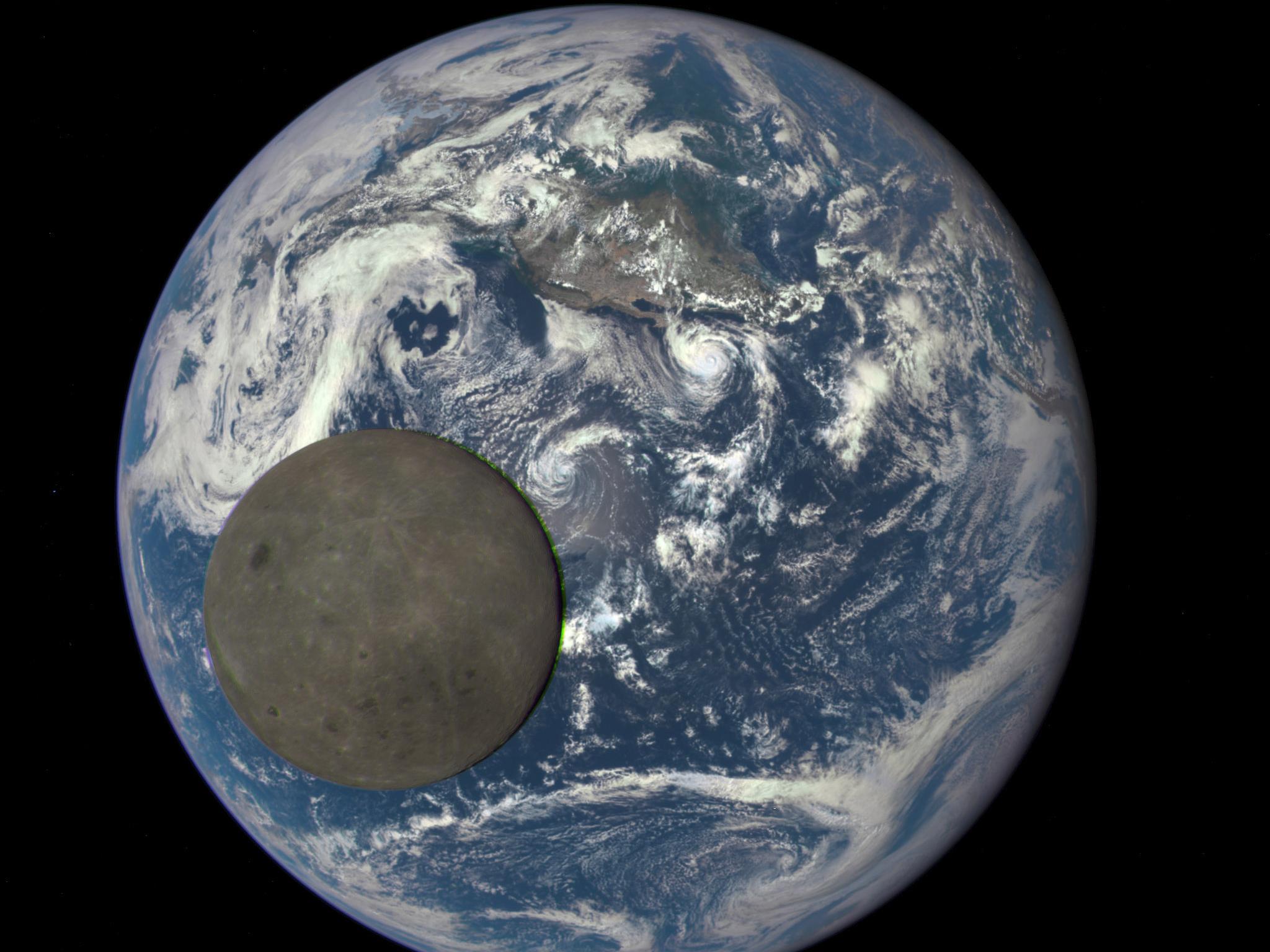 月が地球から遠ざかる45億年の歴史を見るアニメ…JAXAの研究者が作成 ...
