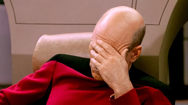 『スター・トレック』のジャン=リュック・ピカード艦長。演じるのはパトリック・スチュワート。
