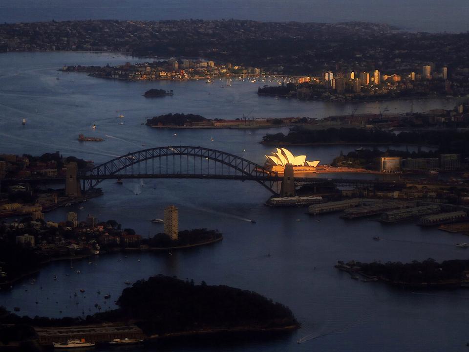 シドニー湾、オーストラリア。2018年11月。