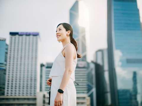 クレディ・スイスによると、中国では富の格差が比較的小さい。