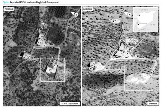 バグダディ 隠れ家 シリア