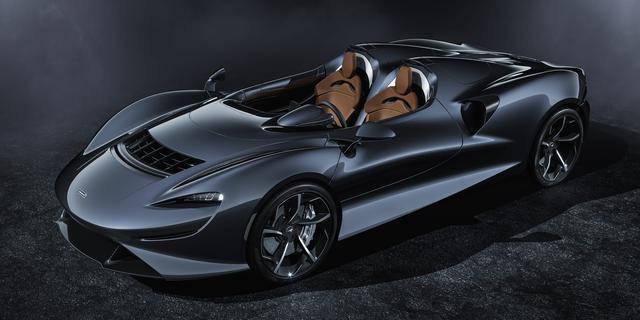 2億円のスーパーカー、マクラーレンのロードスター「エルバ」