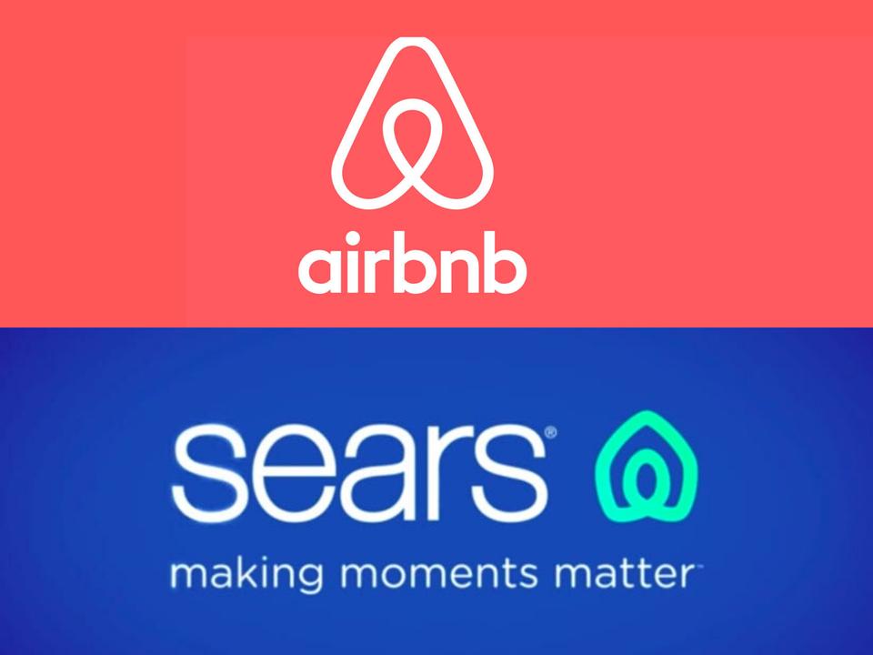 シアーズの新しいロゴはAirbnbに似ていると非難された。