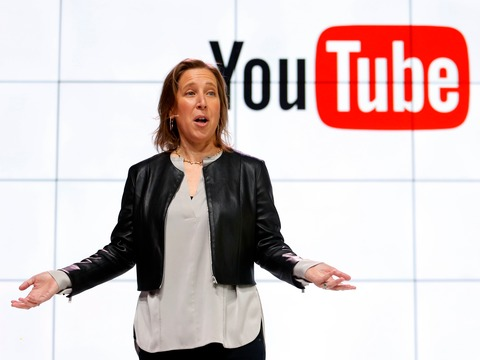 YouTubeのスーザン・ウォシッキーCEO。