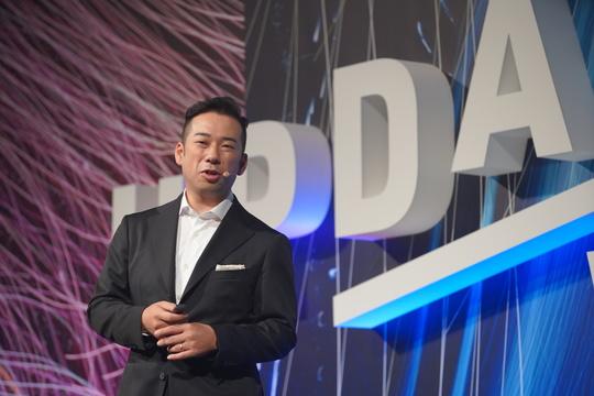 ウイングアーク1st代表取締役長・田中潤氏。
