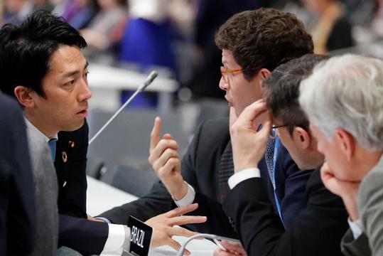 COP25での小泉環境大臣