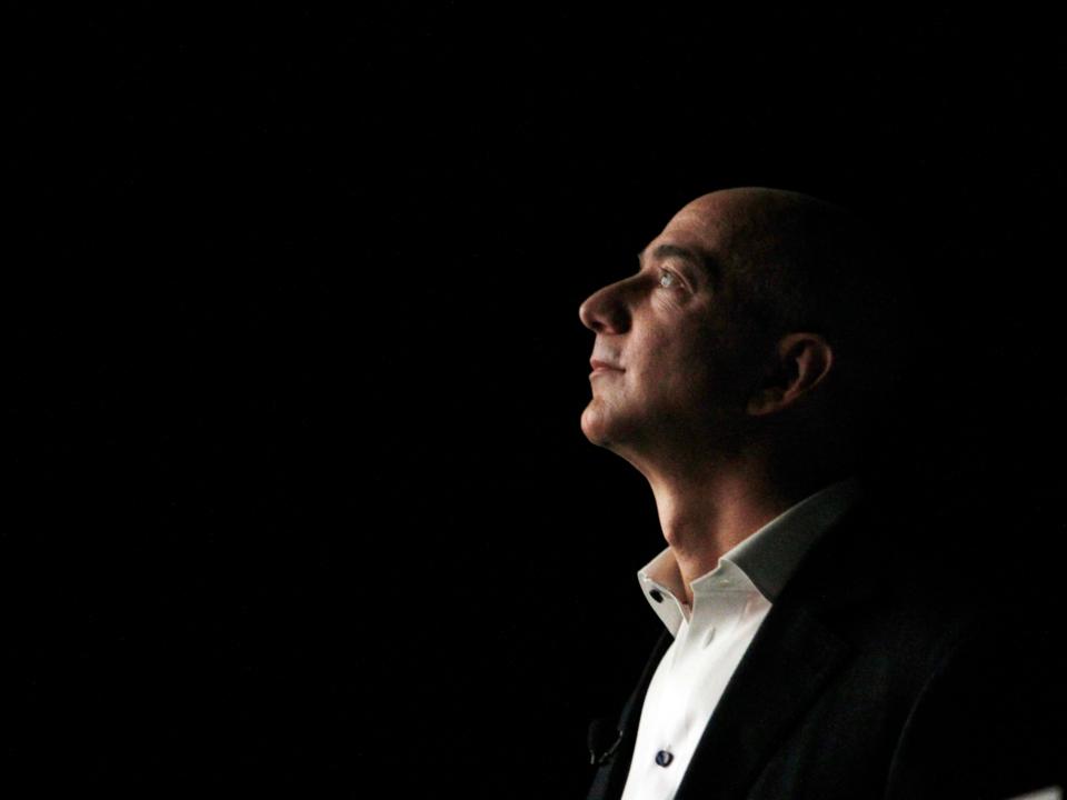 アマゾンのCEO、ジェフ・ベゾス。